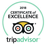lisle de france Tripadvisor Certificate of Excellence 2015 & 2016